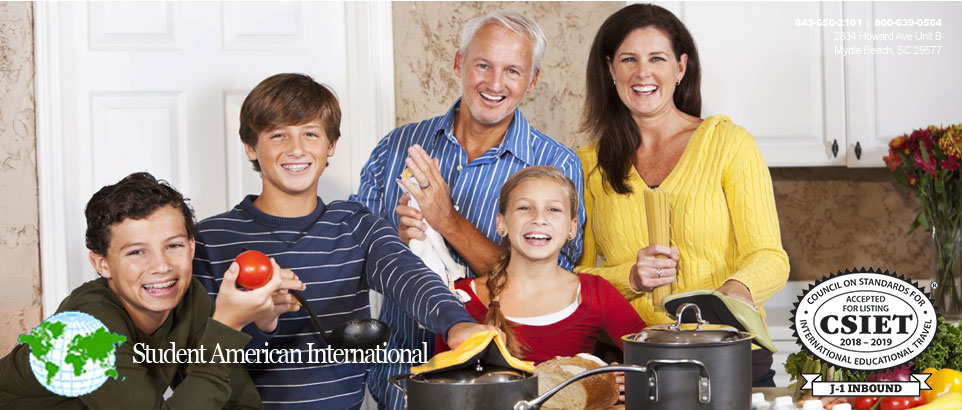 Host Families - Student America International